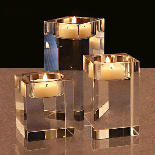 Outfit Creative Crystal Glass Candlestick