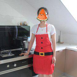 Party Dress Christmas Apron Kitchen Holiday Decoration for Adult -