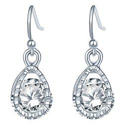 GR - 0015 Zircon Earrings Stud Earrings -