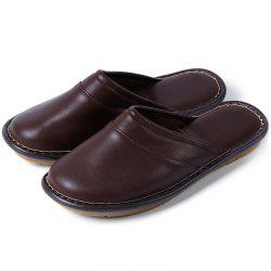 Chaussons Gluten Bottom Cotton Leather -