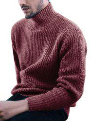 Solid Color Long-sleeve Sweater -