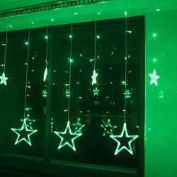2 5m Led Christmas Stars Light String