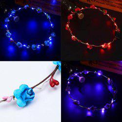 Моделирование Glow Garland Party LED Beach Light Head Headwear -