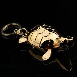 Creative USB Turtle Charging Windproof Lighter Keychain Small Toy -