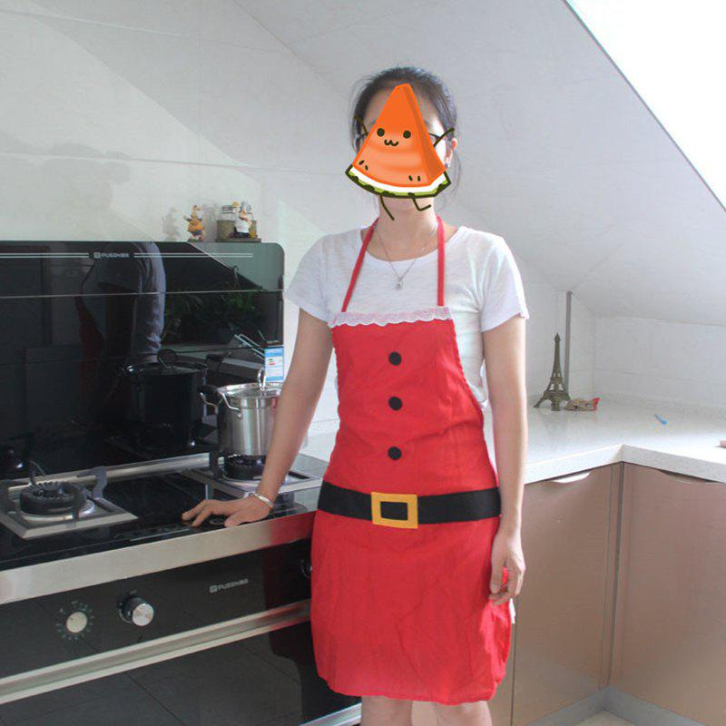 Hot Party Dress Christmas Apron Kitchen Holiday Decoration for Adult