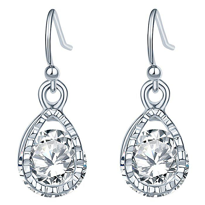 Shops GR - 0015 Zircon Earrings Stud Earrings