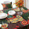 Party Meal Cotton Linen Tablecloth -
