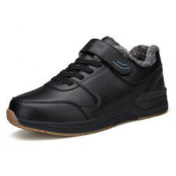 Middle-aged Warm Outdoor Cotton Shoes -