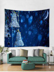 Christmas Bells Print Tapestry Wall Hanging Decoration -