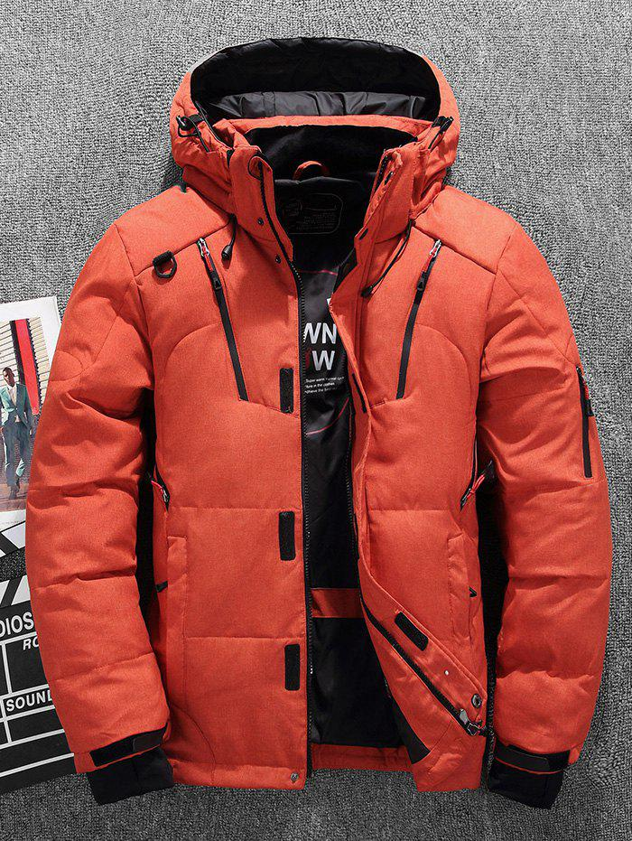 Outfits Men's Cold-resistant Thicken Down Coat