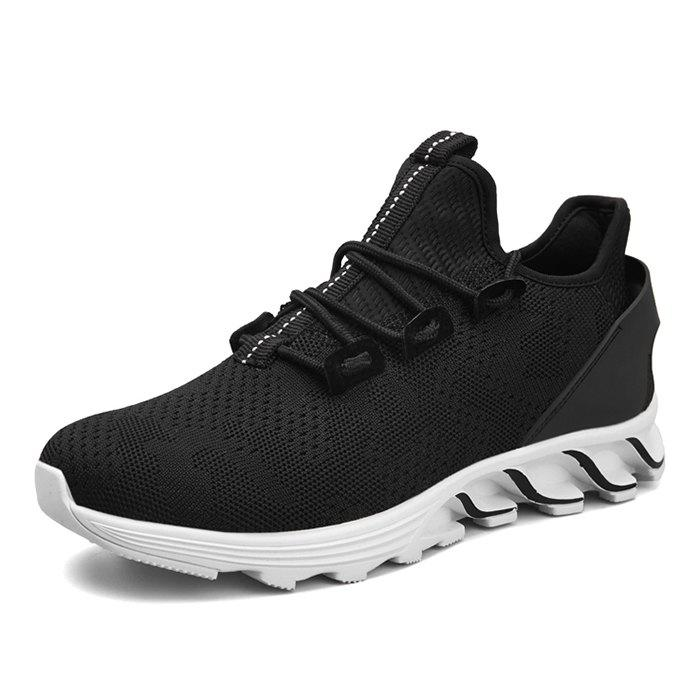 Fashion Casual Shoes Black White Red