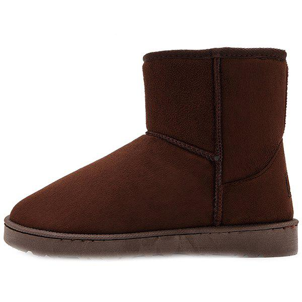 Hot Warm Velvet Outdoor Boots