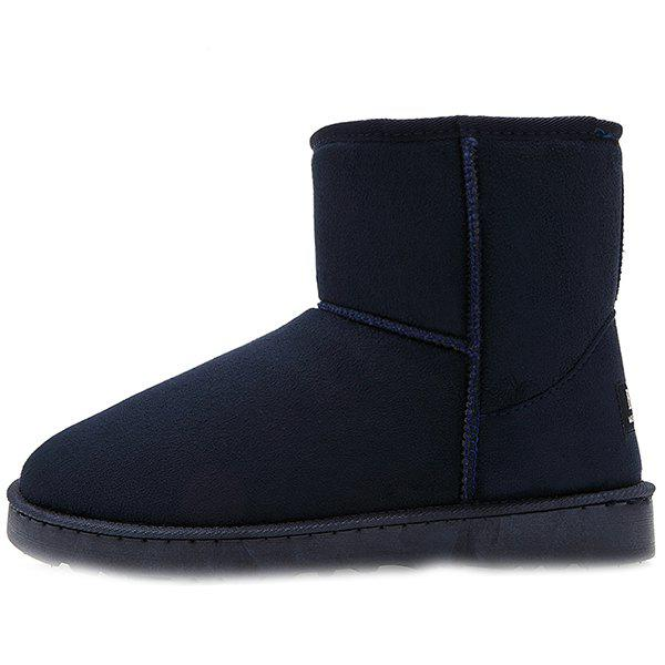 Fancy Warm Velvet Outdoor Boots