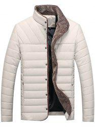 Automne Hiver Collier Self-cultivation Warm Men Cotton Jacket -