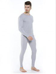 Cotton Thermal Men's Thin Section Autumn Long Underwear -