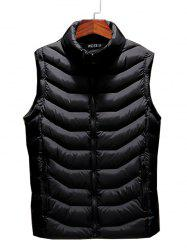 803 - A230 Autumn And Winter Male Korean Version Of The Self-cultivation Stand Collar Cotton Coat Small Vest -