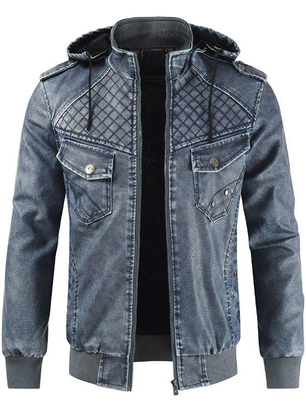 Affordable Men Comfortable Leisure Hooded Classic Zipper Jacket