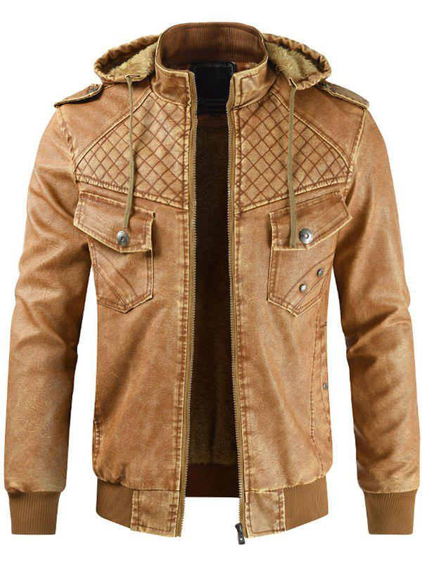 New Men Comfortable Leisure Hooded Classic Zipper Jacket