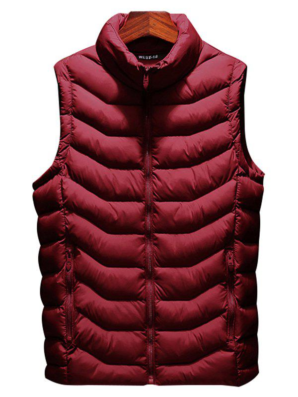 Best 803 - A230 Autumn And Winter Male Korean Version Of The Self-cultivation Stand Collar Cotton Coat Small Vest