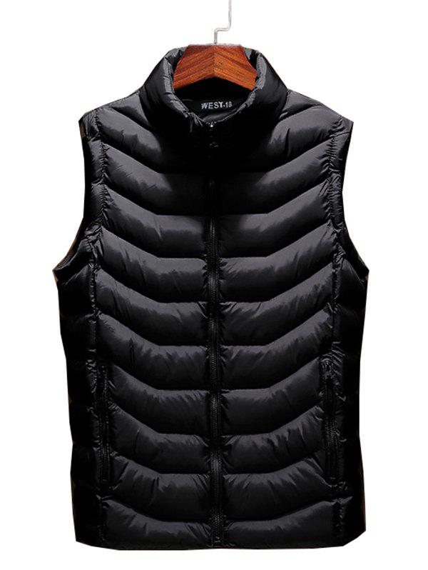 Unique 803 - A230 Autumn And Winter Male Korean Version Of The Self-cultivation Stand Collar Cotton Coat Small Vest