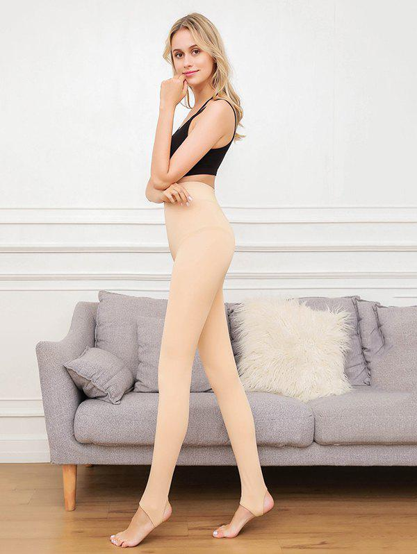 Outfits Artifact Anti-pilling Plus Velvet Thickening Pants Wearing Solid Color Leggings