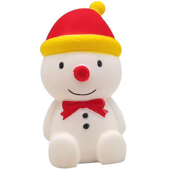 Unique PU Simulation Snowman Slow Rebound Toy