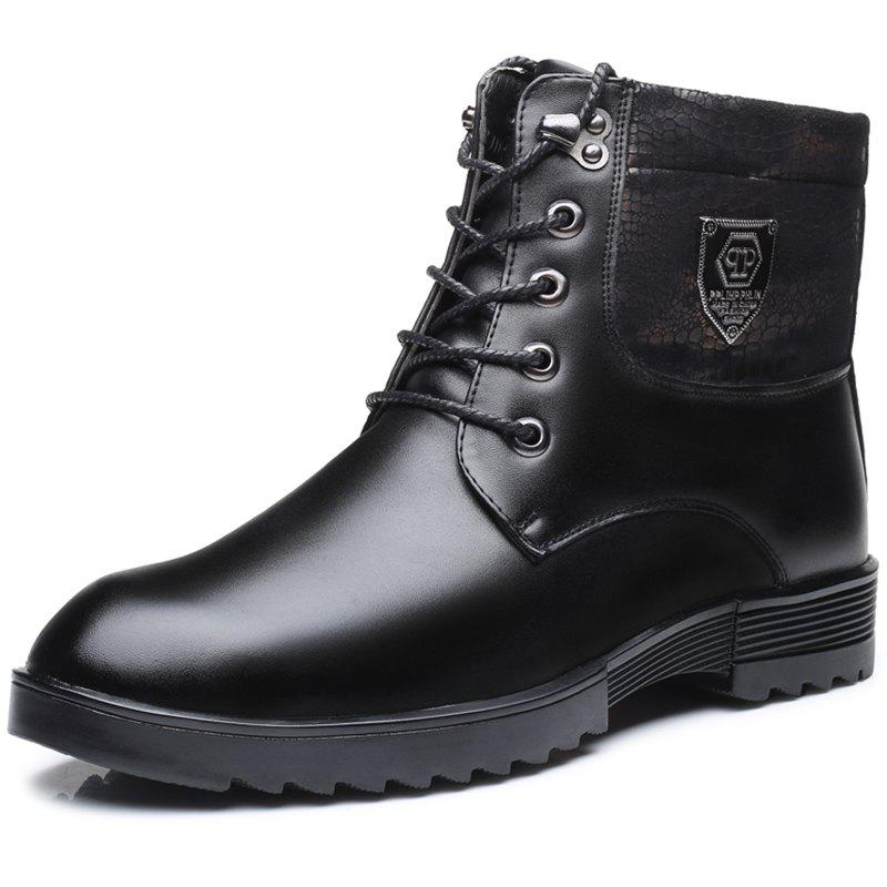 Hot Men's Boots Casual Fashion Plus Velvet