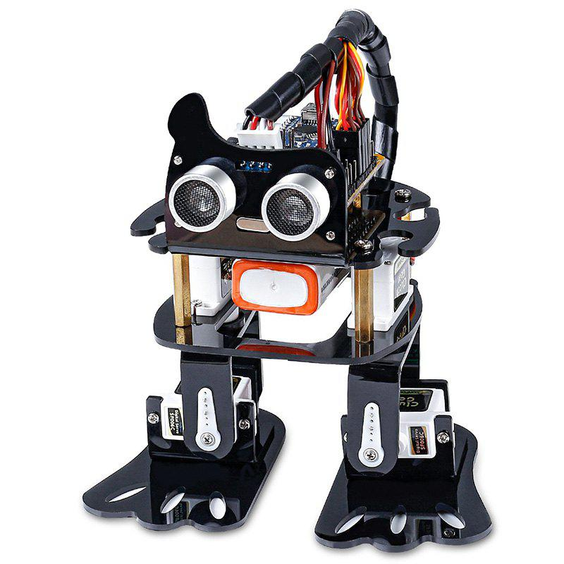 Hot DIY 4-DOF Robot Learning Kit with Arduino Nano Toy Gift for Children