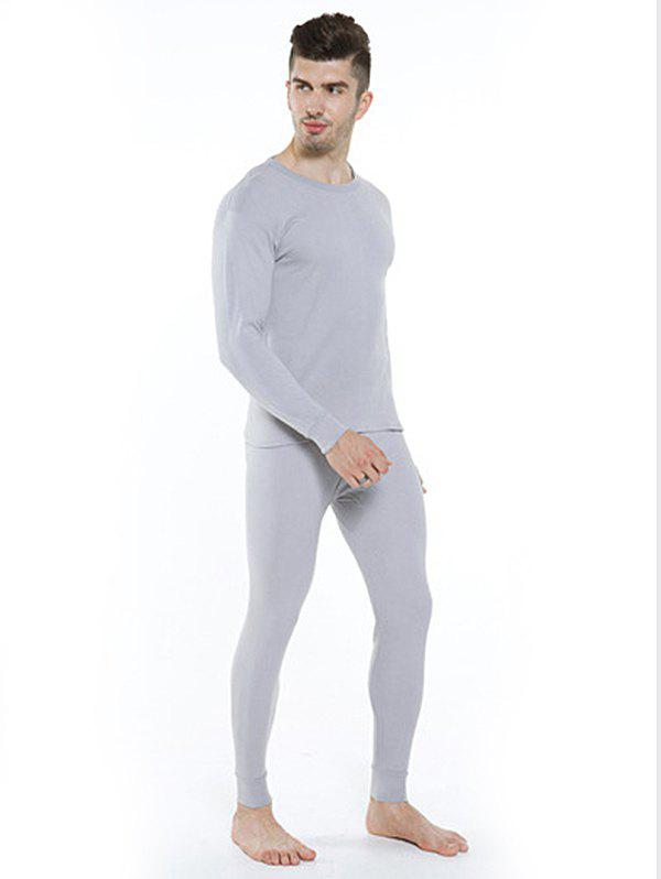 Shop Cotton Thermal Men's Thin Section Autumn Long Underwear