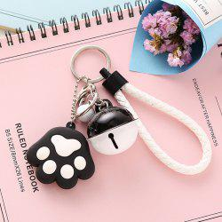 Hand Rope Bell Fresh Fashion Bag Decoration Accessories Cartoon Metal Keychain -