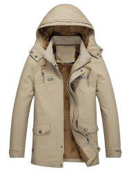 Thick Plus Personality Simple Trench -