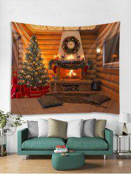 Christmas Tree Gift Stocking Pattern Tapestry Art Decoration -