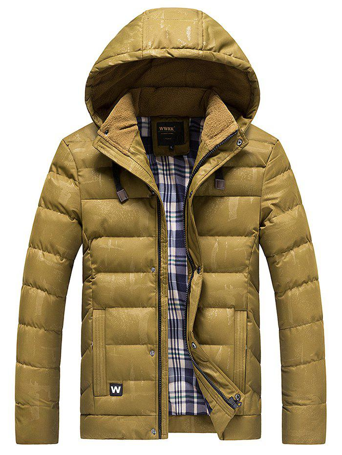 Outfit Winter Creative Men's Casual Parka