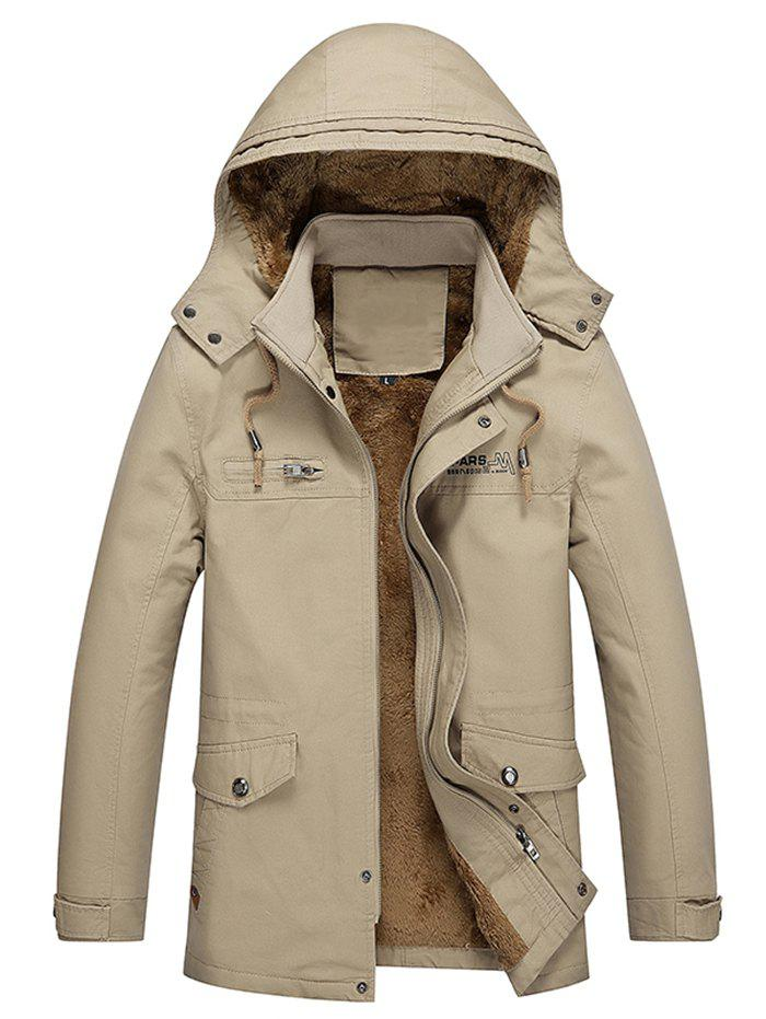 Unique Thick Plus Personality Simple Trench