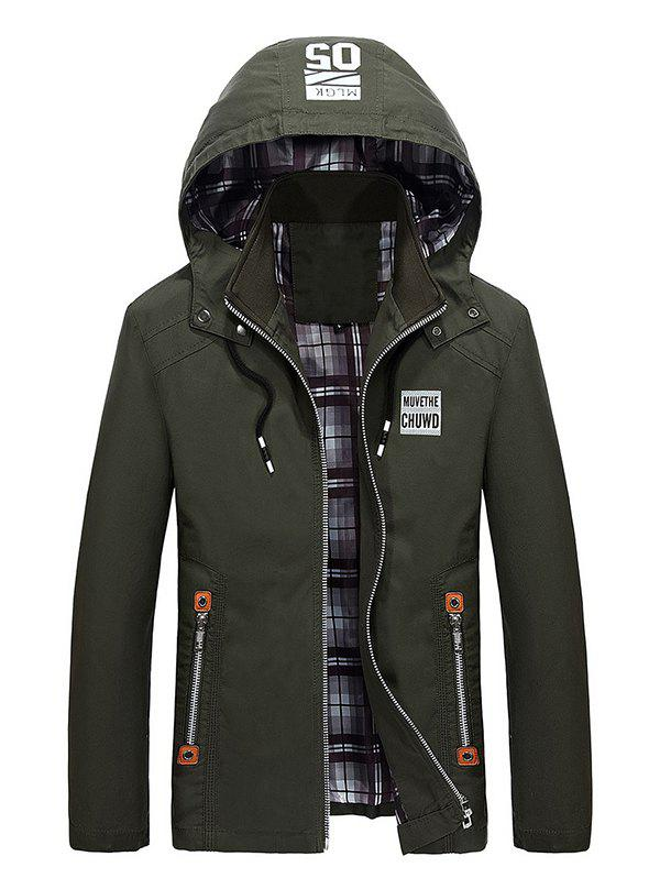 Discount Men's Creative Simple Trench