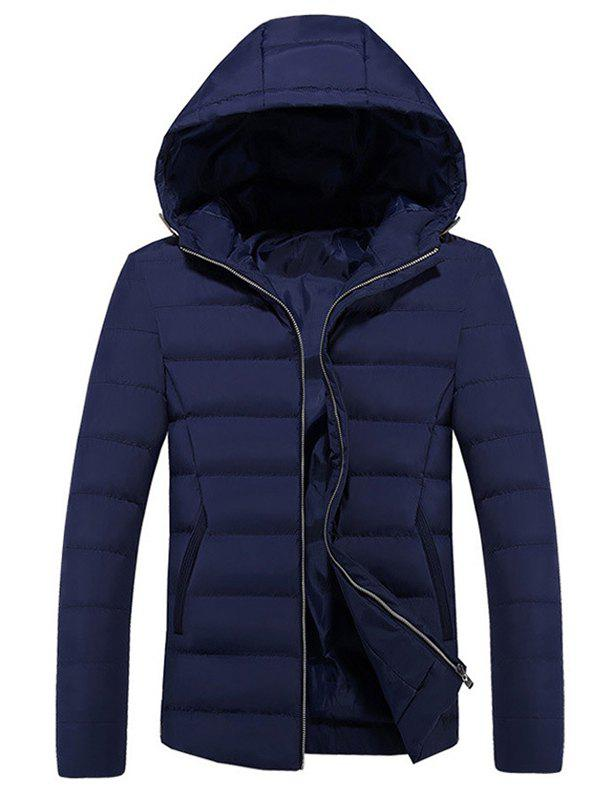 Store Fashion Hooded Men's Cotton Coat