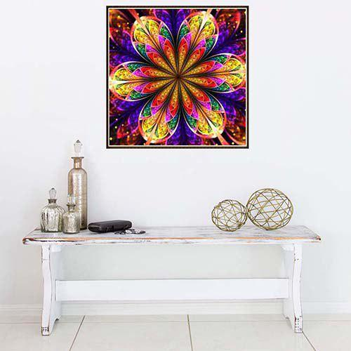 New T5678 Colorful Diamond Painting 30 x 30cm