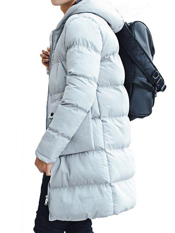 Online Men Medium Style Fashionable Thickening Thermal Down Jacket