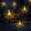180-LED Outdoor Garden Solar Waterproof Explosion Fireworks Light 60 / Group -
