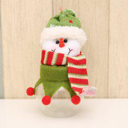 Christmas Decoration Fabric Doll Candy Box -