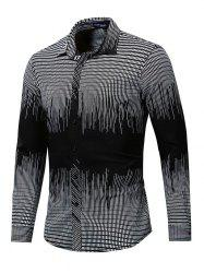 FREDD MARSHALL Chemise Casual à manches longues pour hommes -