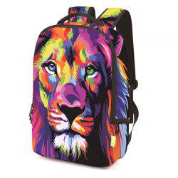 3D Polyester Digital Backpack -