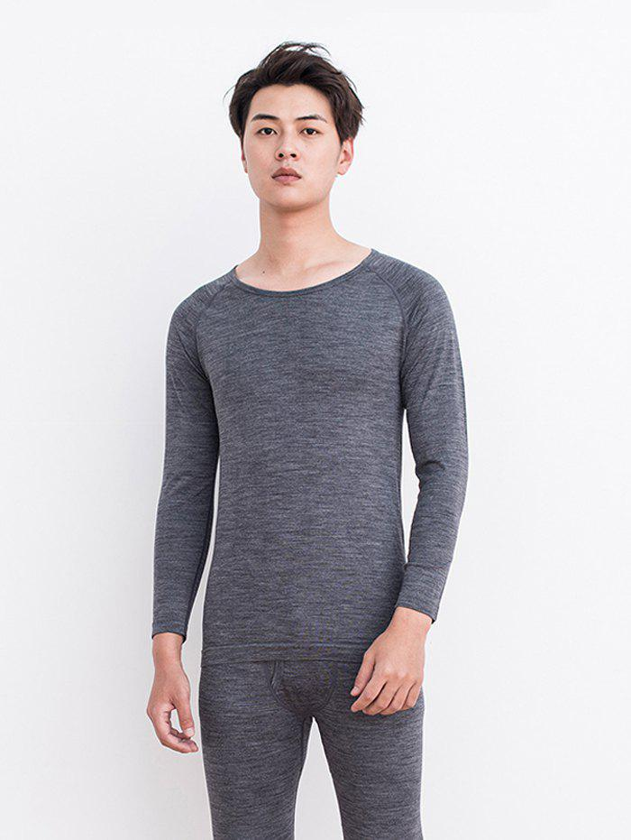 Latest Wool Coffee Carbon Thermal Underwear Suit for Men from Xiaomi youpin