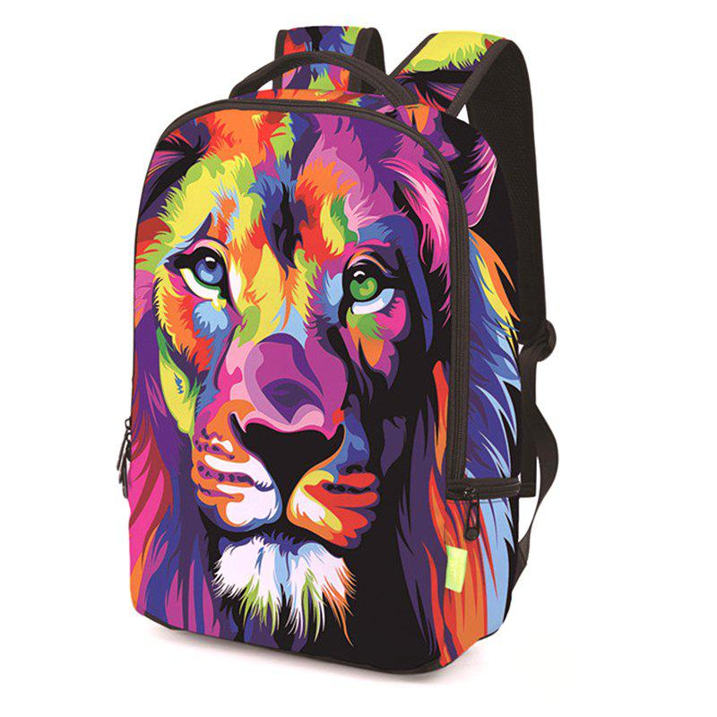 Discount 3D Polyester Digital Backpack