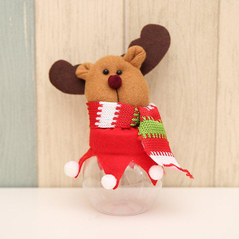 New Christmas Decoration Fabric Doll Candy Box