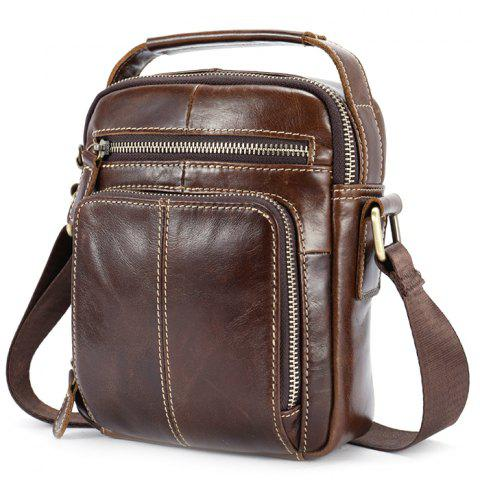 5ccdbdbfbb4e MVA Men Leisure Leather Shoulder Messenger Bag