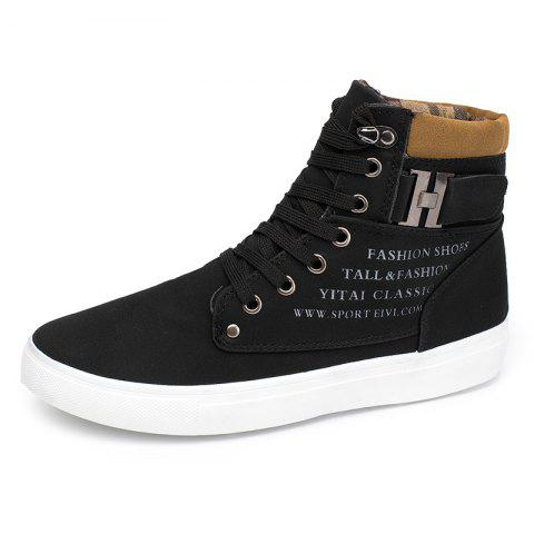 SYXZ 0164 High-top Casual Shoes Lace-up Boots