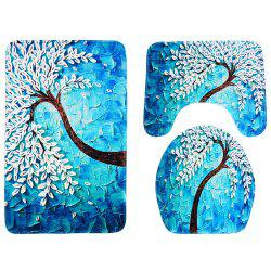 Carved Happiness Tree Anti-skid Absorbent Pad 3pcs -