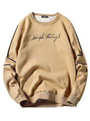 6729 - A105 Youth Slim Long Sleeve Men's Sweatshirt -