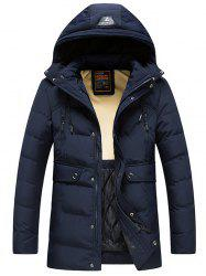 8809 - A532 Winter Men's Korean Casual Jacket Down Cotton Padded Hoodie -
